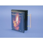 """Smart"" Blk-F/S Dvd Case-With Hub-100 Pc"
