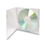 Clear Slimline Jewel Case (Clear - 50 Pcs)