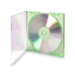Green Slimline Jewel Case (Green - 50Pcs)