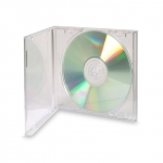 Ultra Clear Standard Jewel Case (Clear - 50 Pcs)