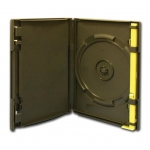 Zenith Pac Dvd Security Case (Single Sided - Black: 100Pcs)