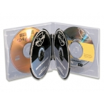 (Clear) 6-Cd Poly Case (50 Pcs)