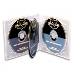 (Clear) 4-Cd Poly Case (50 Pcs)