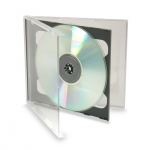 (Clear) Smart 2 Disc Cd Jewel Case (200 Pcs)