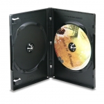 (Black) Double Dvd Case (100Pcs)