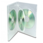 (Clear) 3-Disc Dvd Case (100 Pcs)