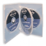 (Clear) 4-Disc Dvd Case (100 Pcs)