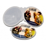 (Clear) Cd/Dvd Shell Case (100 Pcs)