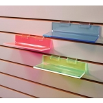 Acrylic-Fluorescent Red Shelf
