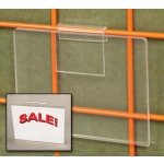 "Acrylic- 5"" X 7"" Grid Sign Holder"