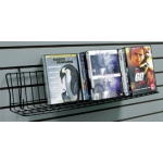 Slatwall Media Shelving